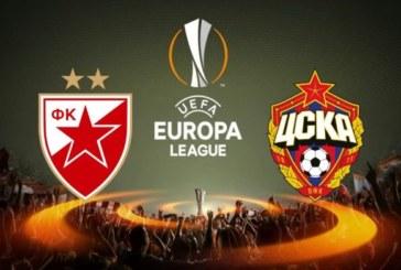 Minut ćutanja na početku utakmice Crvena zvezda – CSKA