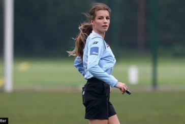 FOTO: Da li je ona najljepša fudbalska sutkinja na svijetu