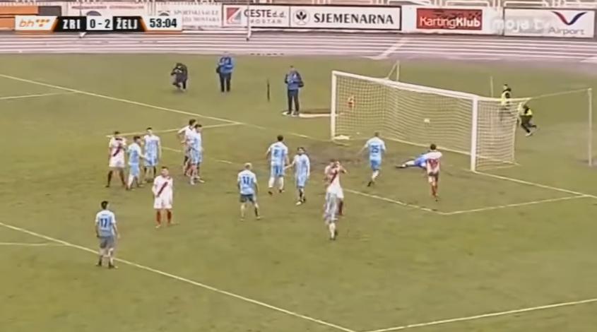 (VIDEO)Šou u Mostaru: Željezničar dva minuta prije kraja vodio 0:3, meč završen 3:3
