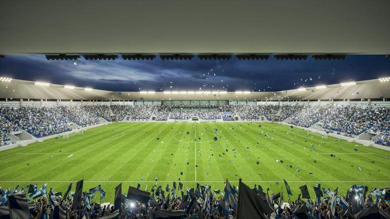 FOTO: Hrvatski klub gradi stadion od 40 miliona eura