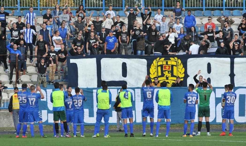 Nikšić slavi titulu Sutjeske