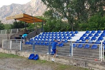 FOTO: Drugoligaš počeo renoviranje stadiona